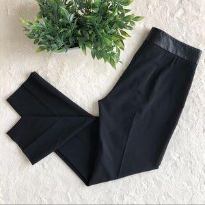 Piazza Sempione black skinny pants lamb leather 38